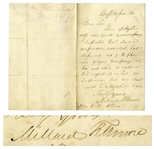 Millard Fillmore Autograph Letter Signed, Graciously Excusing a Colleagues Absence
