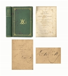 Queen Victoria Signed Copy of Her Book, Leaves from the Journal of Our Life in the Highlands