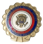 Secret Service Badge for Bill Clintons 1997 Inauguration