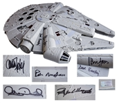 The Millennium Falcon Model Signed by The Empire Strikes Back Cast Including Han Solo, Princess Leia, Chewbacca and C-3PO