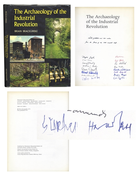 Stephen Hawking Signed Book From 1973 -- One of the Scarcest of Signatures