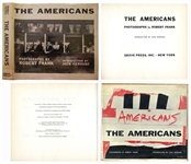 The Americans First U.S. Edition Photography Book, With an Introduction by Jack Kerouac -- Exceptional Condition