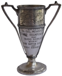 Tennis Trophy Won by May Sutton, the First American to Win Wimbledon Singles Championship