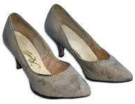 Jackie Kennedy Personally Owned & Worn High Heel Shoes -- Shoes by Revette