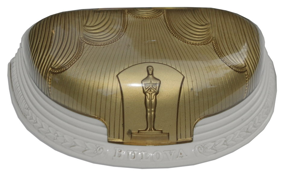Custom-Made Bulova Case to House a Watch From Their 1950's Academy Awards Line