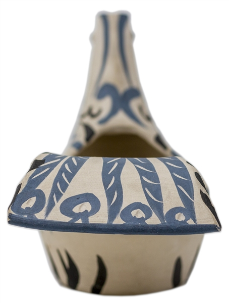 Pablo Picasso ''Sujet Colombe'' -- Dove Vase Created at the Madoura Pottery Studios