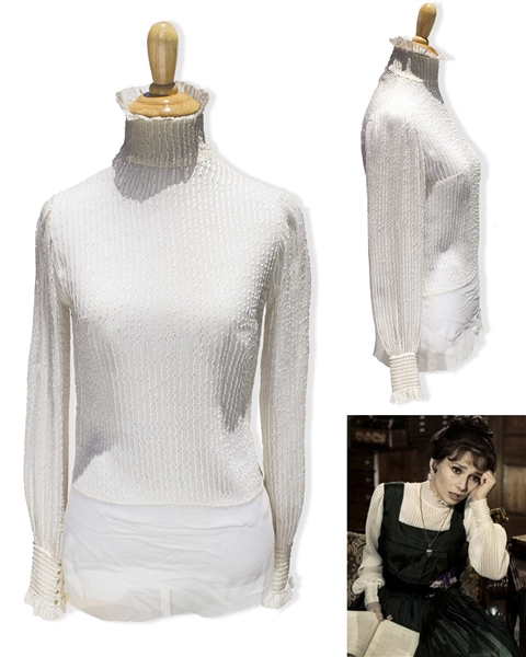 Audrey Hepburn's Personally Owned Blouse From ''My Fair Lady''