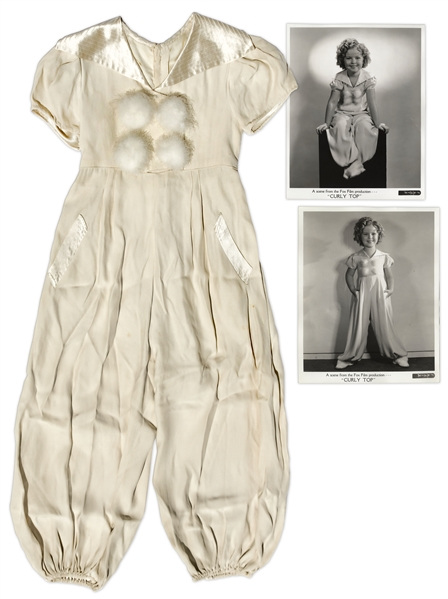 Shirley Temple Screen-Worn Pajamas From 1935 Film ''Curly Top''