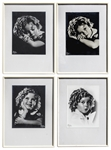 Set of 4 Shirley Temple Framed Studio Portraits