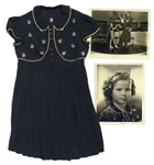 Shirley Temple Screen-Worn Tap-Dancing Dress From 1938 Film Just Around the Corner