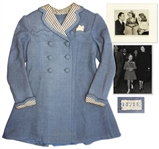 Shirley Temple Screen-Worn Coat From 1938 Film Just Around the Corner
