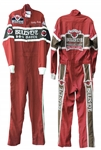 Sterling Marlin Race-Worn Fire Suit -- Back to Back Daytona 500 Champ in 94 and 95