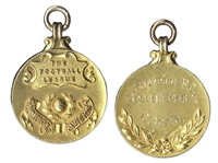 1947 Football League Division Championship Gold Medal -- Won by Cyril Done of Liverpool