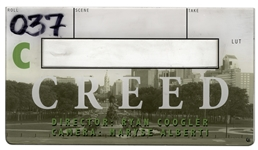 Creed Clapper Board -- With COA From MGM