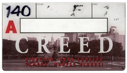 Creed Clapperboard Piece