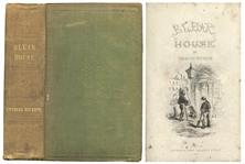 First Edition, First Printing of Charles Dickens Bleak House
