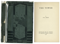 W.B. Yeats First Edition of His Influential Book of Poetry The Tower