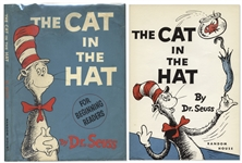 Dr. Seuss First Printing of The Cat in the Hat -- In First Printing Dust Jacket