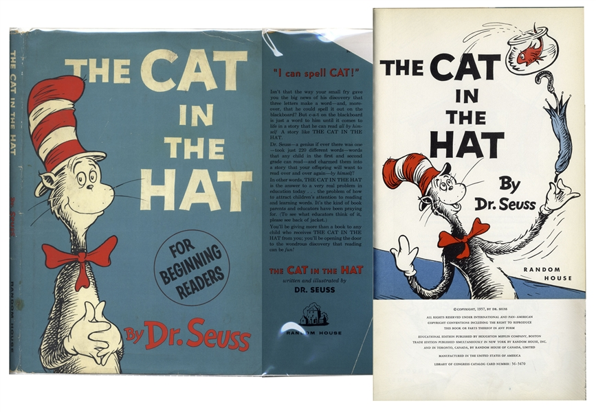 Dr. Seuss' ''The Cat in the Hat'' First Printing
