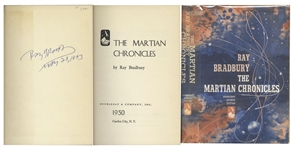 Ray Bradbury Signed First Edition of His Classic The Martian Chronicles