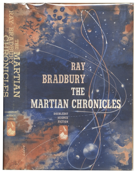 Ray Bradbury Signed First Edition of His Classic ''The Martian Chronicles''