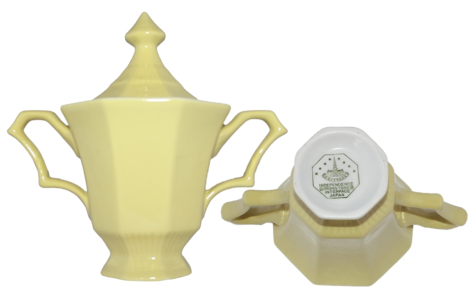 Nancy & Ronald Reagan Sugar Bowl