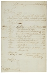 William Bligh Document Signed From 1798 for His Ship, the HMS Director -- Like the HMS Bounty, the HMS Director Also Mutinied Under Blighs Command