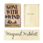 Margaret Mitchell Signed First Edition, First Printing of Gone With The Wind -- In Rare First Printing Dust Jacket