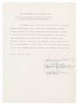 Marilyn Monroe Signed Legal Waiver From 1957 -- With JSA COA