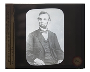 Abraham Lincoln Magic Lantern Slide -- The Five Dollar Bill Photo