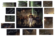 Aliens Cast Signed 14 x 11 Photo -- Signed by 12 Key Cast Members Including Sigourney Weaver and Bill Paxton