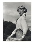 Audrey Hepburns Personally Owned Photo From Love in the Afternoon -- Measures 11.5 x 15.5