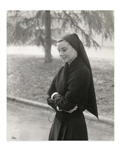 Audrey Hepburns Personally Owned Photo From The Nuns Story -- Taken by Photographer Pierluigi Praturlon, Measuring 9.5 x 11.75
