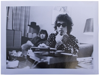Large Photo of Bob Dylan From 1966 -- Taken by Noted Rock Photographer Jan Persson