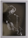 Large Bob Dylan Concert Photograph From 1966 by Photographer Jan Persson