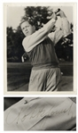 Bobby Jones Signed 8 x 10 Photo -- With PSA/DNA COA