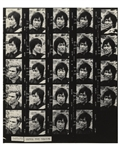 Bruce Lee Contact Sheet of Photos for Enter the Dragon