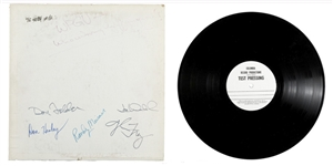 Eagles Signed Hotel California Test Pressing LP From 1976 -- With Roger Epperson COA for All 5 Signatures