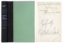 Frank Sinatra, Tony Curtis & Natalie Wood Signed First Edition of Kings Go Forth, the Novel Upon Which the 1958 Film Was Based, Starring All 3 Actors -- Near Fine