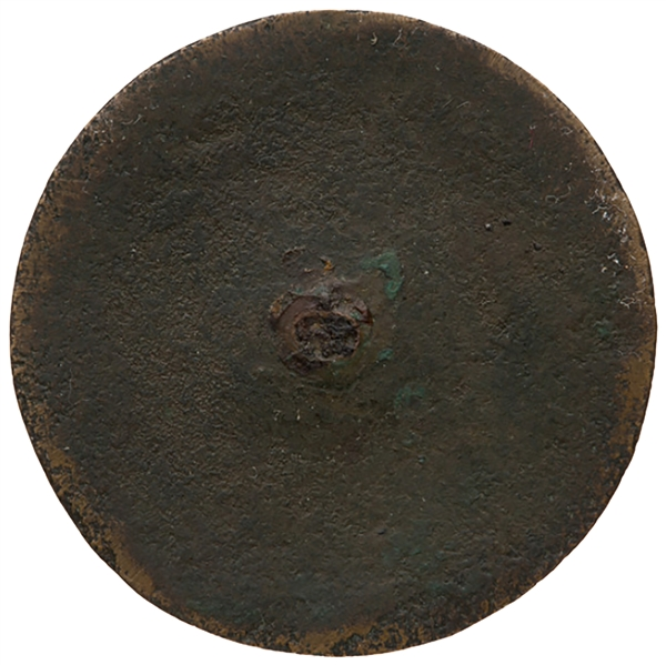 George Washington ''Long Live the President'' Inaugural Coat Button From the Very First Presidential Inauguration in 1789