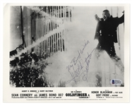 Goldfinger Villain, Harold Sakata Signed 10 x 8 Photo -- With Beckett COA