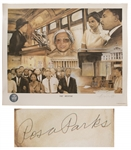 Rosa Parks Signed Civil Rights Limited Edition Poster