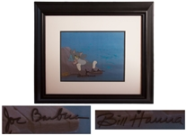 Hanna & Barbera Signed Original Hand-Painted Production Cel for Tom and Jerry: The Movie