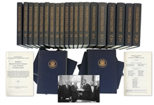 First Edition, 26 Volume Set of the Warren Commissions Report on the Assassination of John F. Kennedy
