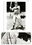 Joe DiMaggio 8 x 10 Signed Photo in His Yankee Pinstripes -- With JSA COA