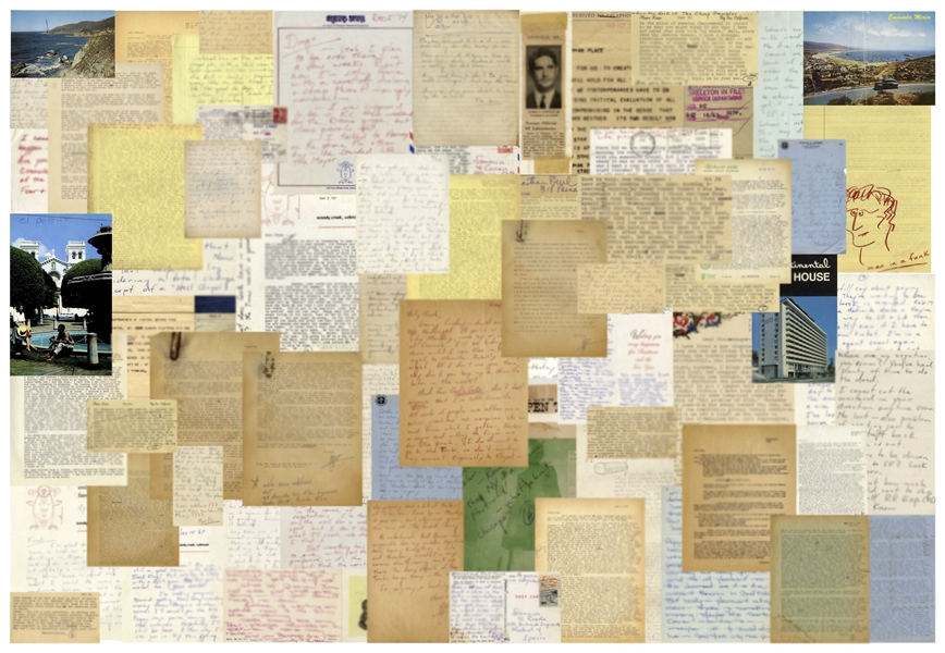 Incredible Hunter S. Thompson Archive of 182 Letters -- …I am not going to be either the Fitzgerald or the Hemingway of this generation…I am going to be the Thompson of this generation…