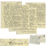 Rare Sigmund Freud Autograph Letter Signed on His Jewish Roots & Psychoanalysis -- ...the Freud family is said to sometime have left their hometown of Köln during a period of persecution of Jews...""