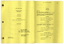 The Royal Family Episode 2 Revised Table Draft Script Owned by Redd Foxx -- Dated Weeks Before Foxxs Death -- 48 Pages -- Very Good Condition -- From Redd Foxx Estate
