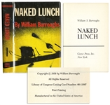 William Burroughs Naked Lunch First U.S. Printing -- With First State Dust Jacket