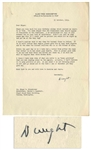 Excellent Dwight D. Eisenhower WWII-Dated Typed Letter Signed -- ...You seem amazed that the Eisenhower name should appear so frequently in the headlines...
